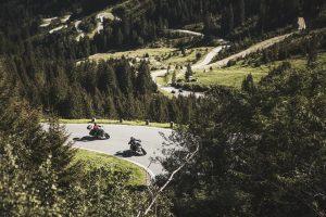 Die Silvrettahochalpenstraße - nur eine der Traumrouten rund um das Paznaun. Foto: Tourismusverband Ischgl