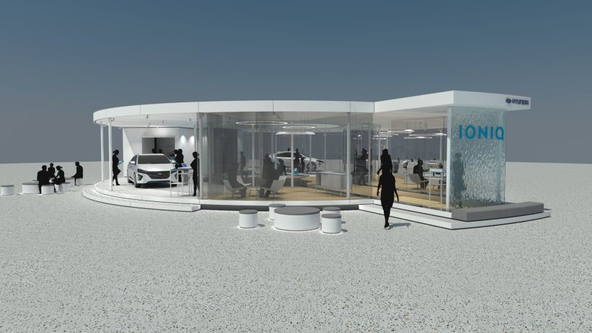 Hyundai-Testevent in Frankfurt: Noch bis zum 6. September