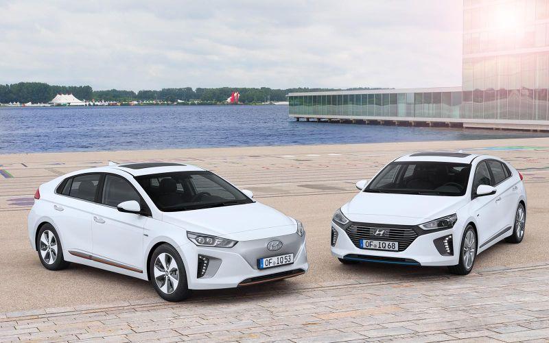 Die neuen Ioniq-Modelle von Hyundai
