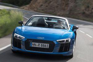 Impressionen von der Audi R8 Spyder Probefahrt ©AUDI AG